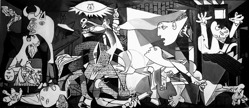 Picasso-guernica-commission-oil-on-canvas-jessica-siemens-2009